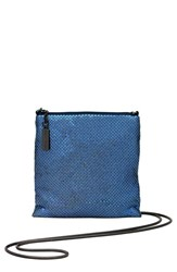 Whiting And Davis Crossbody Bag Blue Midnight