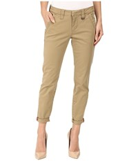 Jag Jeans Dana Tapered Boyfriend Chino Pant In Bay Twill Toffee Women's Casual Pants Brown