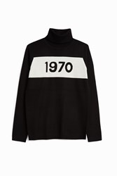 Bella Freud Women S 1970' Polo Jumper Boutique1 Black
