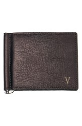 Men's Cathy's Concepts Personalized Leather Wallet And Money Clip Metallic Brown V