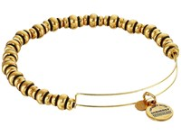 Alex And Ani Nile Beaded Expandable Bangle Russian Gold Bracelet