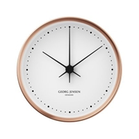 Amazon.Com Georg Jensen Koppel 22 Cm Wall Clock Copper With White Dial