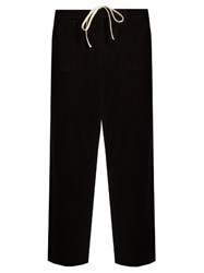 By Walid Tino Cashmere Trousers Black