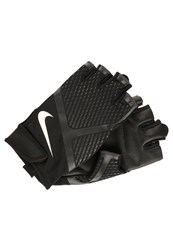 Nike Performance Renegade Fingerless Gloves Black Anthracite White