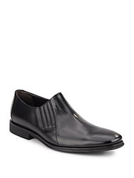 Bruno Magli Wade Leather Slip On Loafers Black