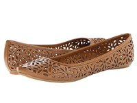 Kenneth Cole Reaction Slip Ster Maple 2 Women's Dress Flat Shoes Brown