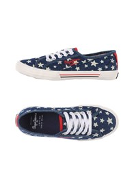 Pepe Jeans Footwear Low Tops And Trainers Women Dark Blue