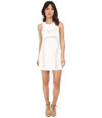 Rvca Tell Me Lies Dress Vintage White Women's Dress Beige