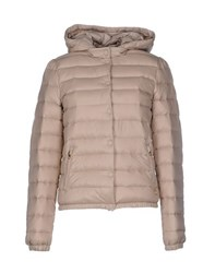 Met And Friends Coats And Jackets Down Jackets Women Beige