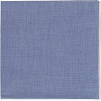 Solid Voile Handkerchief Blue