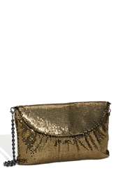 Whiting And Davis Convertible Mesh Clutch Penny