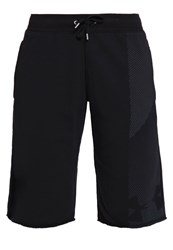 Under Armour French Terry Sports Shorts Black