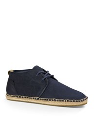 Ugg Chuck Leather Boots Navy