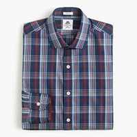 J.Crew Thomas Mason For Ludlow Shirt In Blue Plaid Atlantic Bay