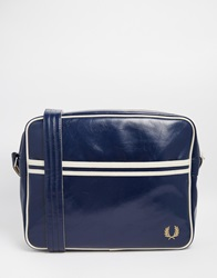 Fred Perry Classic Messenger Bag Blue