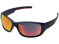 Julbo Eyewear Stunt Sunglasses Blue Red With Spectron 3 Lenses Sport Sunglasses Black