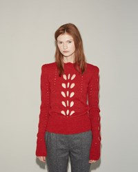 Isabel Marant Ilia Pullover Red