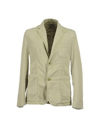 Closed Suits And Jackets Blazers Men Military Green