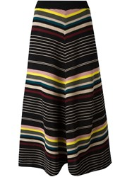 Antonio Marras Striped Knitted Skirt Multicolour