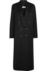 Temperley London Douglas Wool Blend Sateen Coat