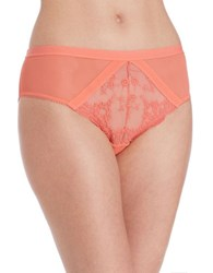 Free People Daydreamer Hipster Brief Coral