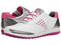 Ecco Biom Hybrid 2 White Candy Women's Golf Shoes