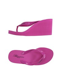 Blumarine Beachwear Footwear Thong Sandals Women