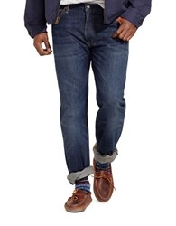 Polo Big And Tall Classic Fit Lightweight Morris Wash Jeans Blue