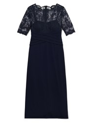 Precis Petite Ally Lace Maxi Dress Navy