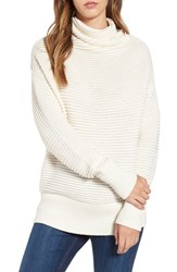 Leith Women's Ottoman Knit Mock Neck Pullover