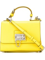 Dolce And Gabbana 'Monica' Tote Yellow And Orange