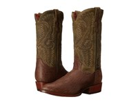 Dan Post High Plains Brown Cowboy Boots