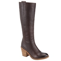 Collection Weekend By John Lewis Long Leather Knee High Boots Brown