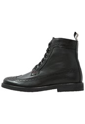 Guess Bastian Laceup Boots Black