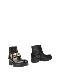 Sgn Giancarlo Paoli Ankle Boots Black