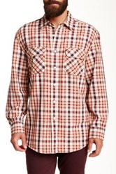Pendleton Long Sleeve Beach Shack Twill Regular Fit Shirt Brown