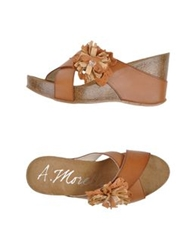 Andrea Morelli Sandals Tan