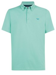 Wolsey Half And Half Regular Fit Polo Shirt Green