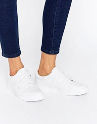 Asos Darko Velcro Trainers White