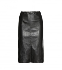 Stouls Andrea Leather Skirt Black