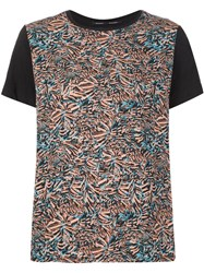 Proenza Schouler Painterly Print T Shirt Multicolour