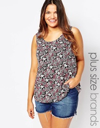 New Look Inspire Open Back Shell Top Multi
