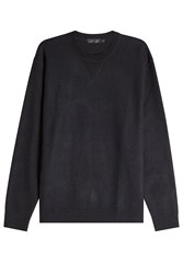 Calvin Klein Collection Cashmere Sweatshirt Black