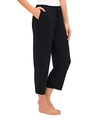 Ellen Tracy Yours To Love Cropped Pants Black