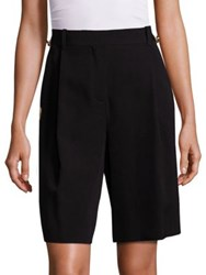 Givenchy Embroidered Pocket Wool Shorts