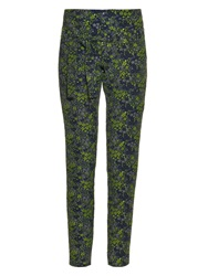 Marques Almeida Floral Brocade Slim Fit Trousers