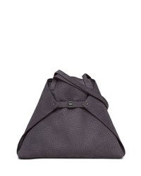 Akris Ai Medium Soft Nubuck Shoulder Bag Denim