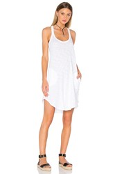 Atm Anthony Thomas Melillo Trapeze Tank Dress White