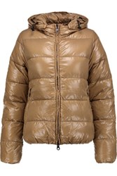 Duvetica Adhara Quilted Shell Down Coat Mushroom