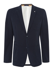 Peter Werth Sorcha Button Blazer Navy